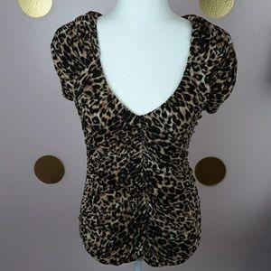 H&M Leopard Print Top